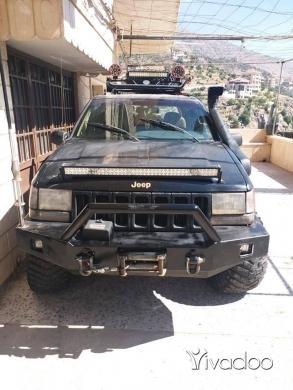 Jeep in Haret Saida - جيب غراند شيرووكي موديل ٩٦