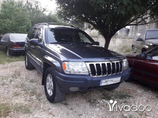 Jeep in Chtaura - شيروكي موديل ال99 مسجل مسكر ميكانيك