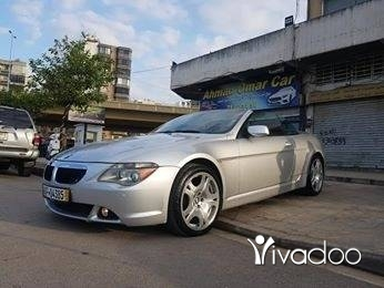 BMW in Tripoli - 645i model 2004