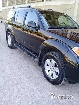 Nissan in Tripoli - جيب باسفندر موديل ٢٠٠٥ اسود جلد اسود فول زوايد كاميرا +ديفدي تليفون واتس