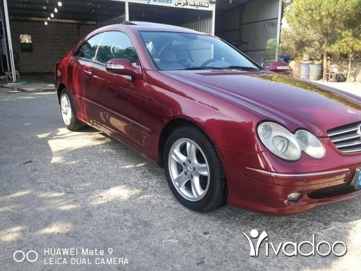 Mercedes-Benz in Aldibbiyeh - CLK240 model 2003 in excellent condition