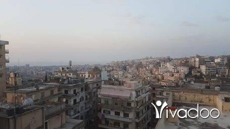 شقق في طرابلس - للبيع شقة في طرابلس ابو سمرا مع سطح