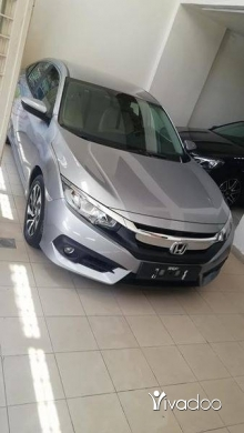 Honda in Al Bahsas - Honda Civic Silver 2018