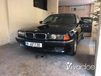 BMW in Beirut City - BMW 740i model 1996