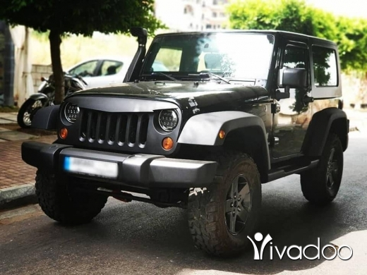 Jeep in Beirut City - 2009 Wrangler
