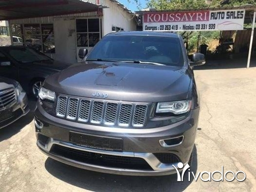 Jeep in Beirut City - 2015 Jeep Grand Cherokee Summit