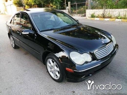 Mercedes-Benz in Ardeh - C 240 mod 2002 اسود ملكي الب اسود phone 03191533
