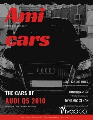 Audi in Jdeideh - Audi Q5 2010