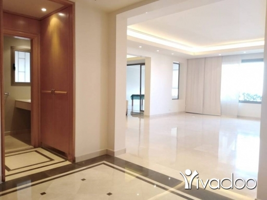 Apartments in Achrafieh -  A 375 m2 apartment with a garden having an open sea view for rent in Achrafieh