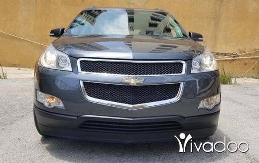 Chevrolet in Beirut City - 2010 Chevrolet Traverse LT Full option مصدر الشركه excellent condition-One Owner-No Accidents