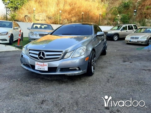Mercedes-Benz in Beirut City - Mercedes E350 2010 luxury pack