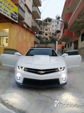Chevrolet in Deir Ammar - كمارو للاجار لاعراس فقد مع زيني ومندون شوفار