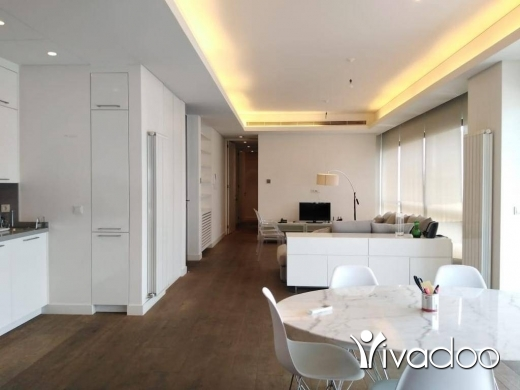 Apartments in Achrafieh -  A furnished 165 m2 apartment having an open mountain/sea view for rent in Achrafieh