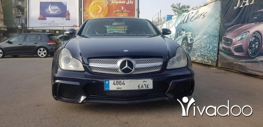 Mercedes-Benz in Port of Beirut - Mercedes cls 2005