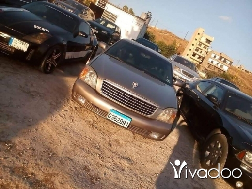 Cadillac in Port of Beirut - Cadillac deville model 2001 mskaar mechanic