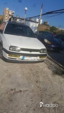 Volkswagen in Port of Beirut - Golf vr6 model 1993