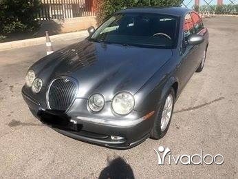 جاغوار في ضبيه - Jagward new S.Type 2002 grey on black super clean full option