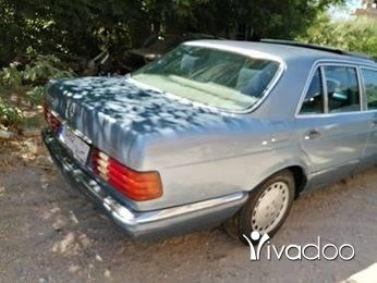 Mercedes-Benz in Tripoli - مرسيدس 300 sel 1986
