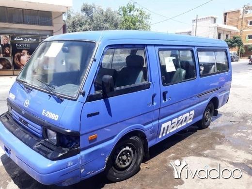 Vans in Port of Beirut - van
