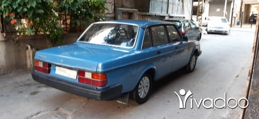Volvo in Beirut City - Volvo 240