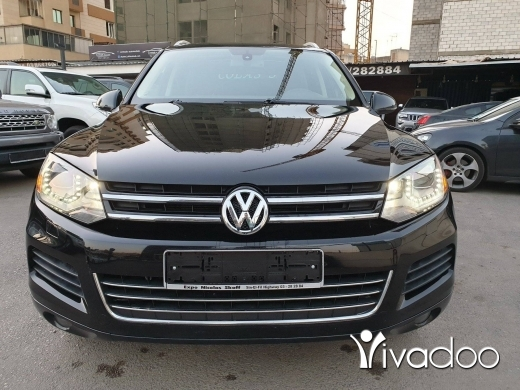 Volkswagen in Beirut City - 2013 VW Touareg V6 4x4