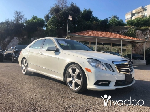 Mercedes-Benz in Beirut City - Mercedes E350 2011