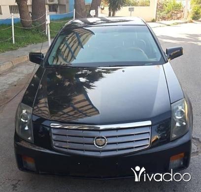 Cadillac in Tripoli - كاديلاك اس تي اس موديل ٢٠٠٣ فول // ٦ سيلندر