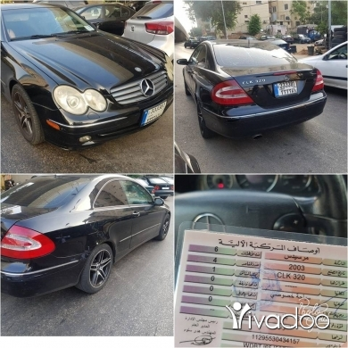 Mercedes-Benz in Port of Beirut - for sale mercedes clk