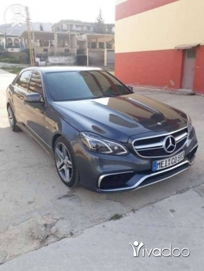 Mercedes-Benz in Port of Beirut - E350 2012