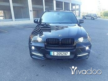 BMW in Saida - رانجx5موديل2007جديد بالورقة مدفوع ميكانيك جنط20ضوء رينك اكزنون ستوب ليد لوك 2012 ولا