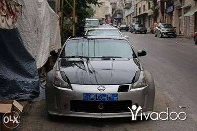 Nissan in Tripoli - 350z 5er2a no accident