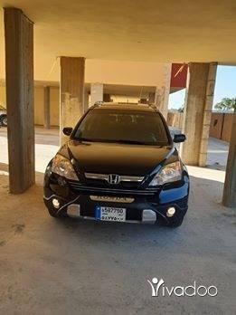 هوندا في طرابلس - للبيع جيب هوندا CRV EXL موديل 2007 دفتر منه انقاض