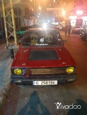Volkswagen in Beirut City - Golf 1 moter vites 7aded ndaf