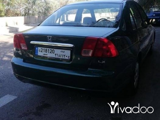 Honda in Baabda - Honda civic 2002 ful op