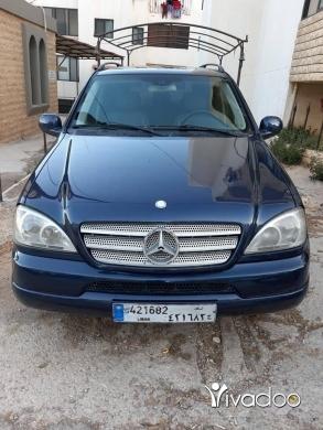 مرسيدس بنز في مدينة بيروت - ML 320 2001