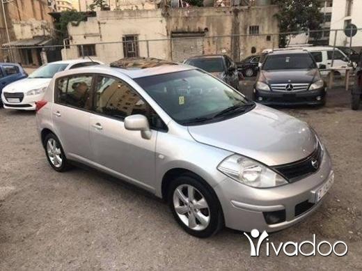 نيسان في مدينة بيروت - Nissan tida 2012