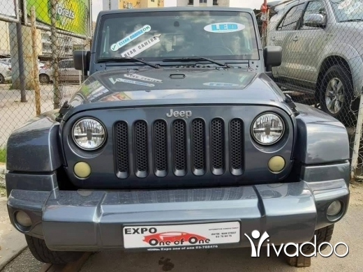 Jeep in Beirut City - Jeep wrangler 2007