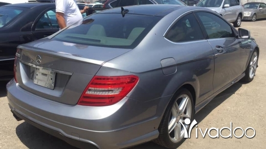 Mercedes-Benz in Beirut City - Mercedes C coupe 250 model 2012