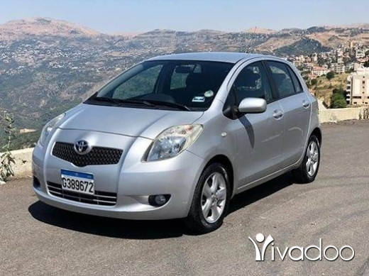 Toyota in Beirut City - Toyota yaris 2008 type 2 abs/airbags jnota 1 owner revziont sherke 2keys 5arka nb 03653677