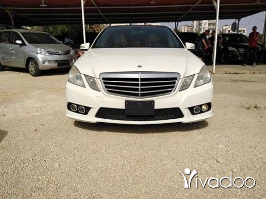 Mercedes-Benz in Tripoli - Mercedes E350