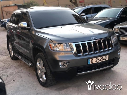 Jeep in Beirut City - Grand 2011 over land