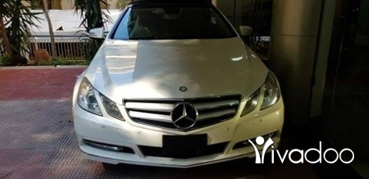 Mercedes-Benz in Tripoli - Mercedes E350 Model 2012