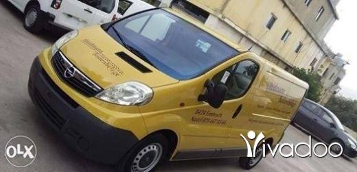 Opel in Tripoli - Opel vivaro
