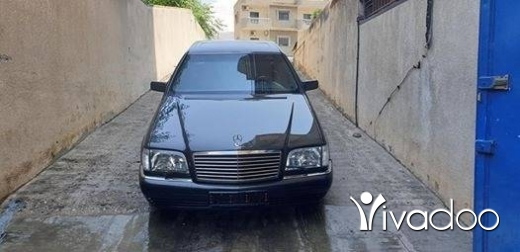 Mercedes-Benz in Tripoli - chaba7 s320 1996