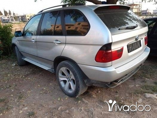 BMW in Tripoli - x5 model 2002 aleb aswad enkad tooop mawjoud mafra2 ber2ayel nb