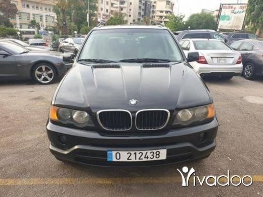 BMW in Beirut City - 2002 bmw x5 black