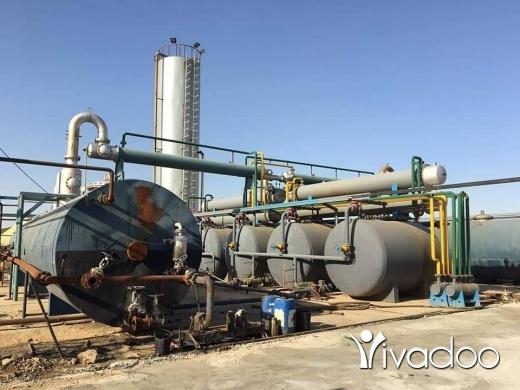 Other in Port of Beirut - تصنيع وتركيب وتشغيل مفاعلات معالجة الزيوت المستعملة لإنتاج زيوت الأساس