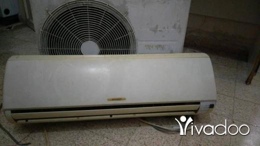 Air Conditioners & Fans for Sale in Beirut City - مكيف 9000 شارب موجود بشارع حمد فيو غاز بس بدو نحاس