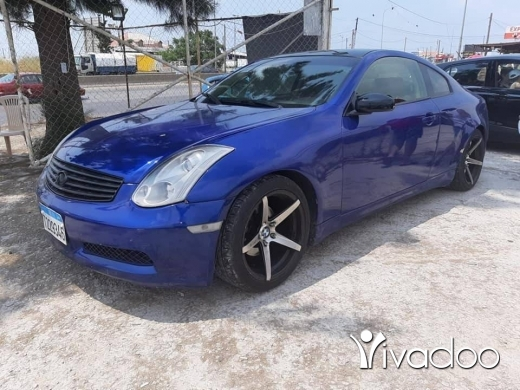 Infiniti in Port of Beirut - G35 model 2003