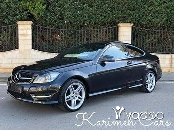 Mercedes-Benz in Tripoli - Mercedes C350 Coupe